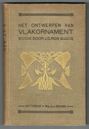 Het ontwerpen van vlakornament bandontwerp Johannes Dominicus Ros