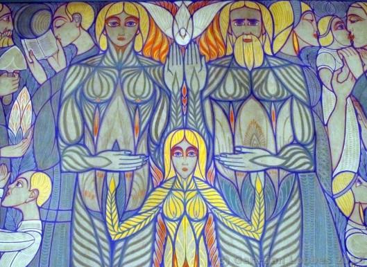 trouwkamer_chris_lebeau_detail_wandschildering