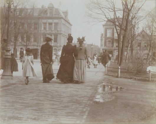 Tweede Weteringplantsoen, foto Jacob Olie, april 1902, Collectie Stadsarchief Amsterdam