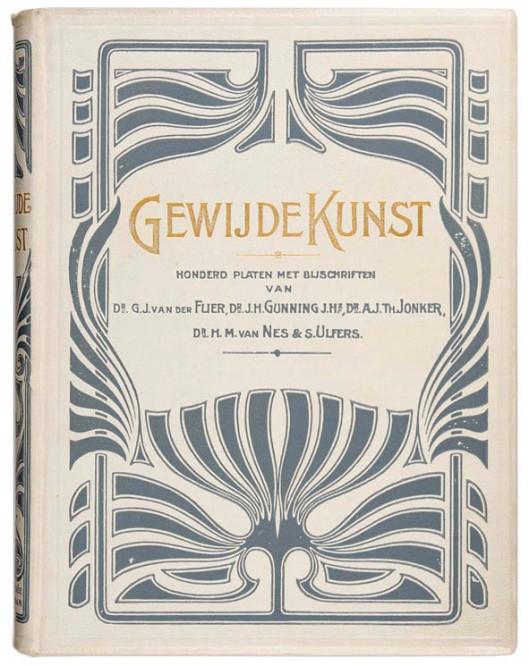 Gewijde Kunst 1905 art nouveau jugendstil boekband