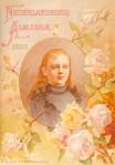 Nederlandsche Almanak voor 1892 art nouveau jugendstil tijdschrift