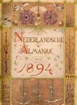 art nouveau nieuwe kunst omslag voor Nederlandsche Almanak ontwerp Theo Nieuwenhuis