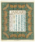 art_nouveau_kalenderblad_netty_vd_waarden_bloem_blad_kalender_januari_1903