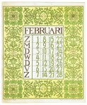 art_nouveau_kalenderblad_netty_vd_waarden_bloem_blad_kalender_februari_1903