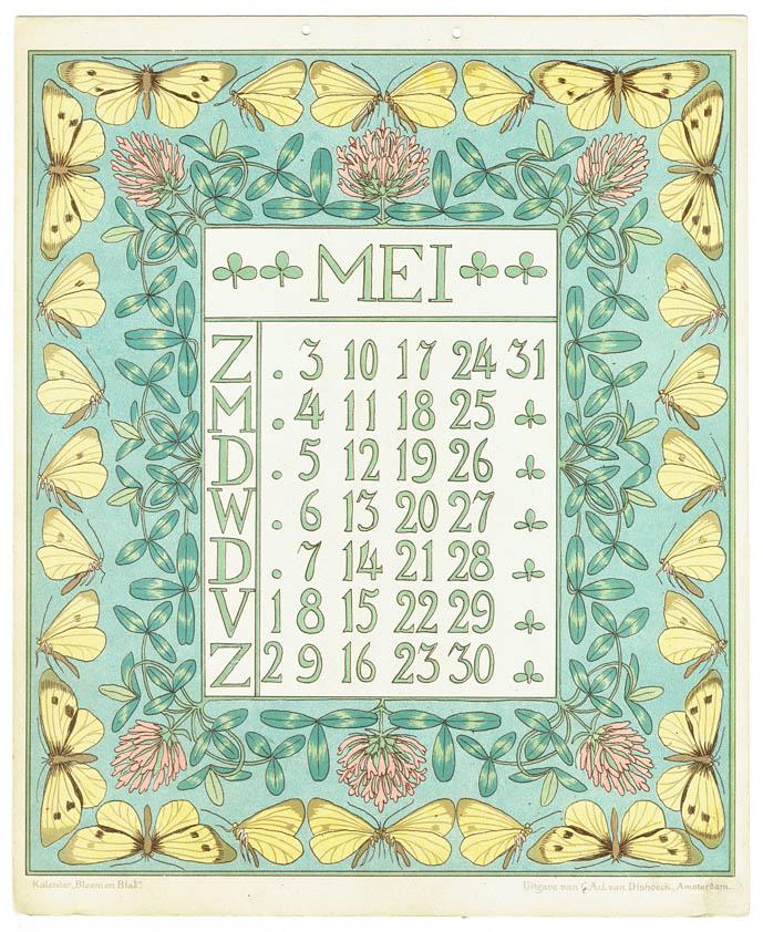 Kalenders van Netty van der Waarden