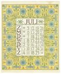 art_nouveau_kalenderblad_netty_vd_waarden_bloem_blad_kalender_juli_1903
