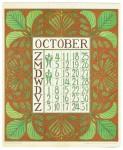 art_nouveau_kalenderblad_netty_vd_waarden_bloem_blad_kalender_oktober_1903