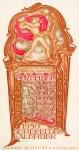 Drukkerij Senefelder kalender kalenderblad november 1930 ontwerper Willem Arondeus