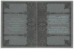 """Brochure Vos & De Vries Meubelfabriek """"De Eenvoud"""", omslagontwerp: Theo Neuhuys (1902)"""