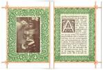 """Paginaversiering brochure Vos & De Vries Meubelfabriek """"De Eenvoud"""", omslagontwerp: Theo Neuhuys (1902)"""