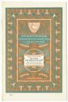 Programma van het Concertgebouw te 's Gravenhage (1908), omslagontwerp: Theo Neuhuys