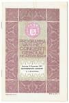 Programma van het Concertgebouw te Amsterdam (1917), omslagontwerp: Theo Neuhuys