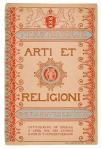 Tekstboekje R.K. Zangvereeniging Arti et Religioni, omslagontwerp: Cees Dunselman (1910)