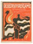 De Bedrijfsreklame, december 1917, omslagontwerp: Cornelis Rol, Amsterdamse School