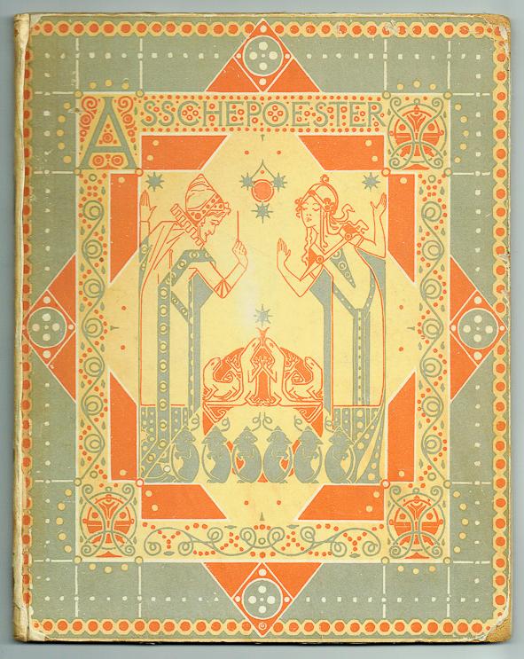 Asschepoester, omslagontwerp: Wilhelmina Drupsteen (1907)