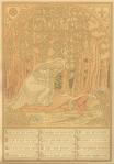 Prent 2 van Het daghet in den Oosten, ontwerp: Henricus Jansen (1909)