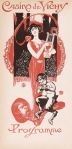 jugendstil art nouveau omslag programma - Casino de Vichy (1911)