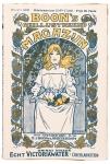 Boon's Geïllustreerd Magazijn (herfstnummer), omslagontwerp: Johann Georg van Caspel (1902)