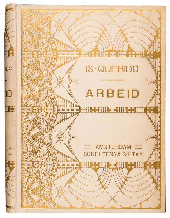 Arbeid - Israël Querido (1912), bandontwerp: Theo Neuhuys (1901)
