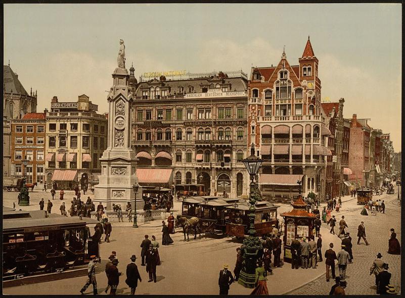 Nederland anno 1900 in kleur