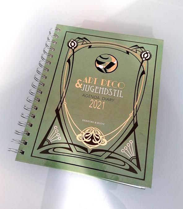 Voorproefje uit Art Deco & Jugendstil agenda 2021
